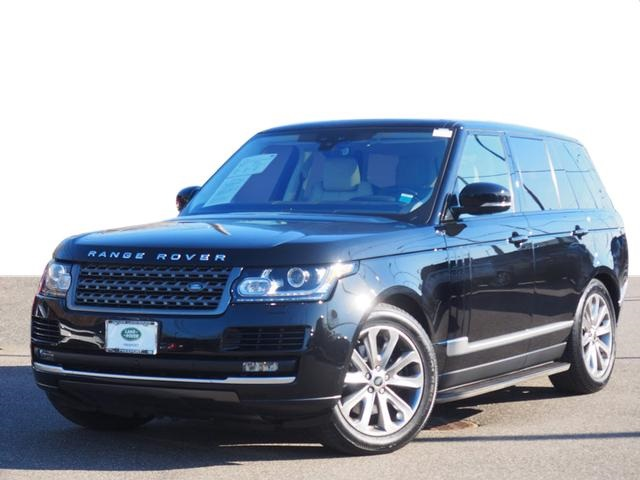 Certified Pre-Owned 2017 Land Rover Range Rover 3.0L V6 Supercharged